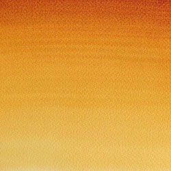 Image of Winsor & Newton Quinacridone Gold watercolor swatch