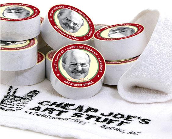 Glamour image of Cheap Joe's Stuffit Towels