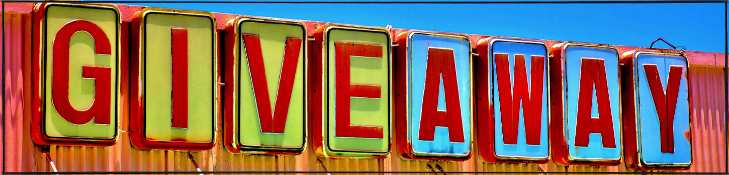 Giveaway Store Sign Photograph by Don Agnello