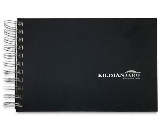 Kilimanjaro Black Travel Watercolor Journal