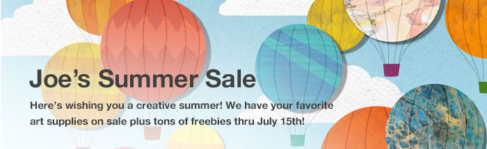 Summer Sales Event - Cheap Joe's Art Stuff