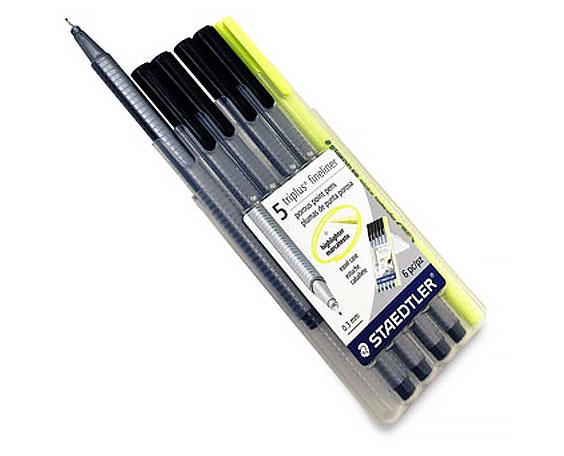 Staedtler Triplus Fineliner 6-Pen Set