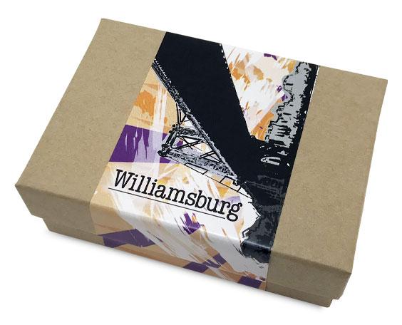 Box of Williamsurg Oil Sample Paints
